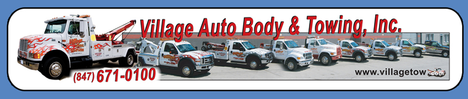 Village Auto Body >> 847 671 0100 Village Auto Body Towing Inc 9344 Byron St